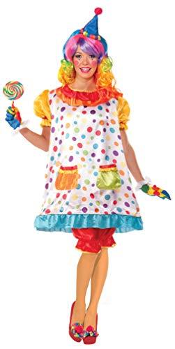 Forum Novelties Women's Wiggles The Clown Costume, Multi, Standard