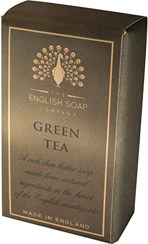 The English Soap Company, Pure Indulgence Green Tea, Shea Butter Soap, 200g