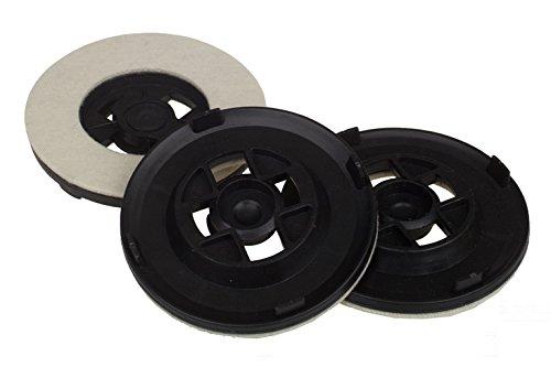 Hoover 35600976, Floor Polisher Pads, White