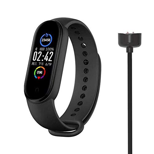 Wider Compatibility: The Smart Watch Supports Sedentary Reminders, Alarm Clocks, Medicine, Drinking Water, Meeting Reminders, Stopwatches, Etc. A Full Charge For 3-5 Days Of Working Time. Support Most