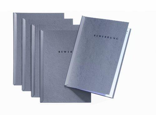 Durable 22005-06 - Set de carpetas de solicitudes color gris