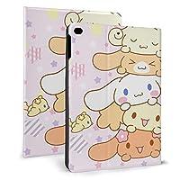 kanaru シナモロール iPad 9.7 7.9ケース スタンド付き ファッション タブレットカバー 手帳型 耐衝撃 防塵 耐久性