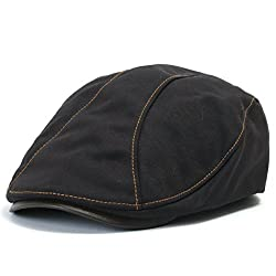 Linen Irish cap for your husband - unique 4th wedding anniversary gift idea