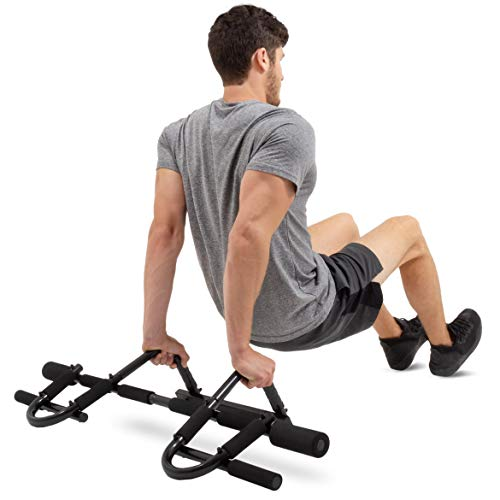 Product Image 6: ProsourceFit Multi-Grip Chin-Up/Pull-Up Bar, Heavy Duty Doorway Trainer for Home Gym