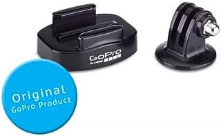 GoPro元abqrt-001標準三脚マウントアダプタとクイックリリース三脚マウントベースGoPro Hero 1、Hero 2、Hero 3、Hero 3+、Hero 3Plus、Hero 4カメラ用–ブラック