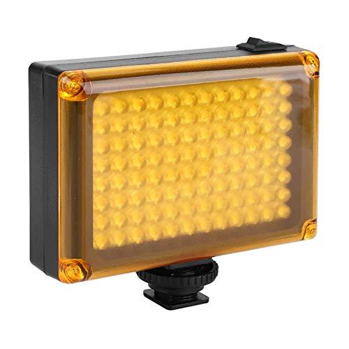 FECAMOS 3200K / 5400K Fotografie Licht LED Video Lampe Lithium-Batterie für den Langzeitgebrauch