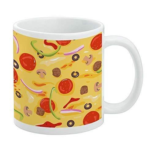 shenguang Combinazione Pizza Pattern con Peperoni Olive e...