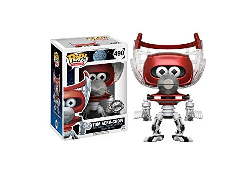 Funko - Figurine Mystery Science Theater 3000 - Tom Serve Crow Repaint Exclu Pop 10cm - 0889698143264