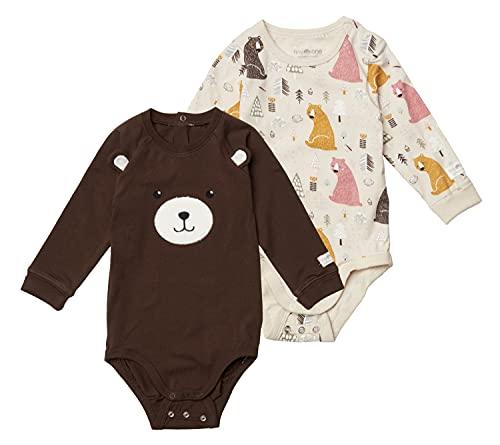 TinyOne Body per neonato, pacco da 2, cotone...