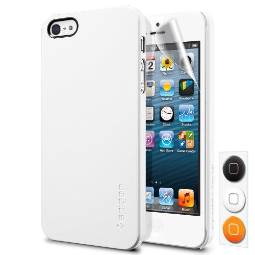 SPIGEN SGP SGP09505 Ultra Thin Air iPhone 5 Smooth White Custodie