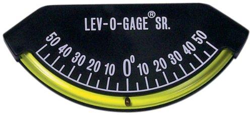 Sun Company Lev-o-bage Sr. Neigungsmesser und Neigungsmesser | Wasserwaage für Anhänger oder 5. Rad