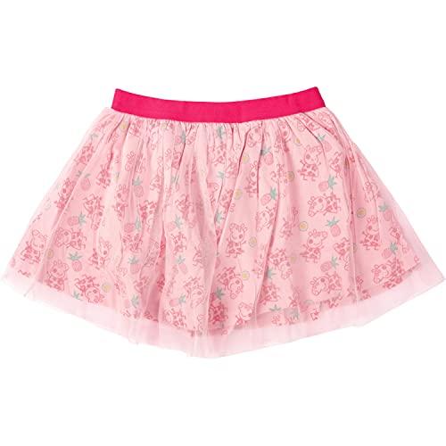 Peppa Pig Mädchen Kleid Rock, Kinder Meshrock Kleidchen rosa (98/104)