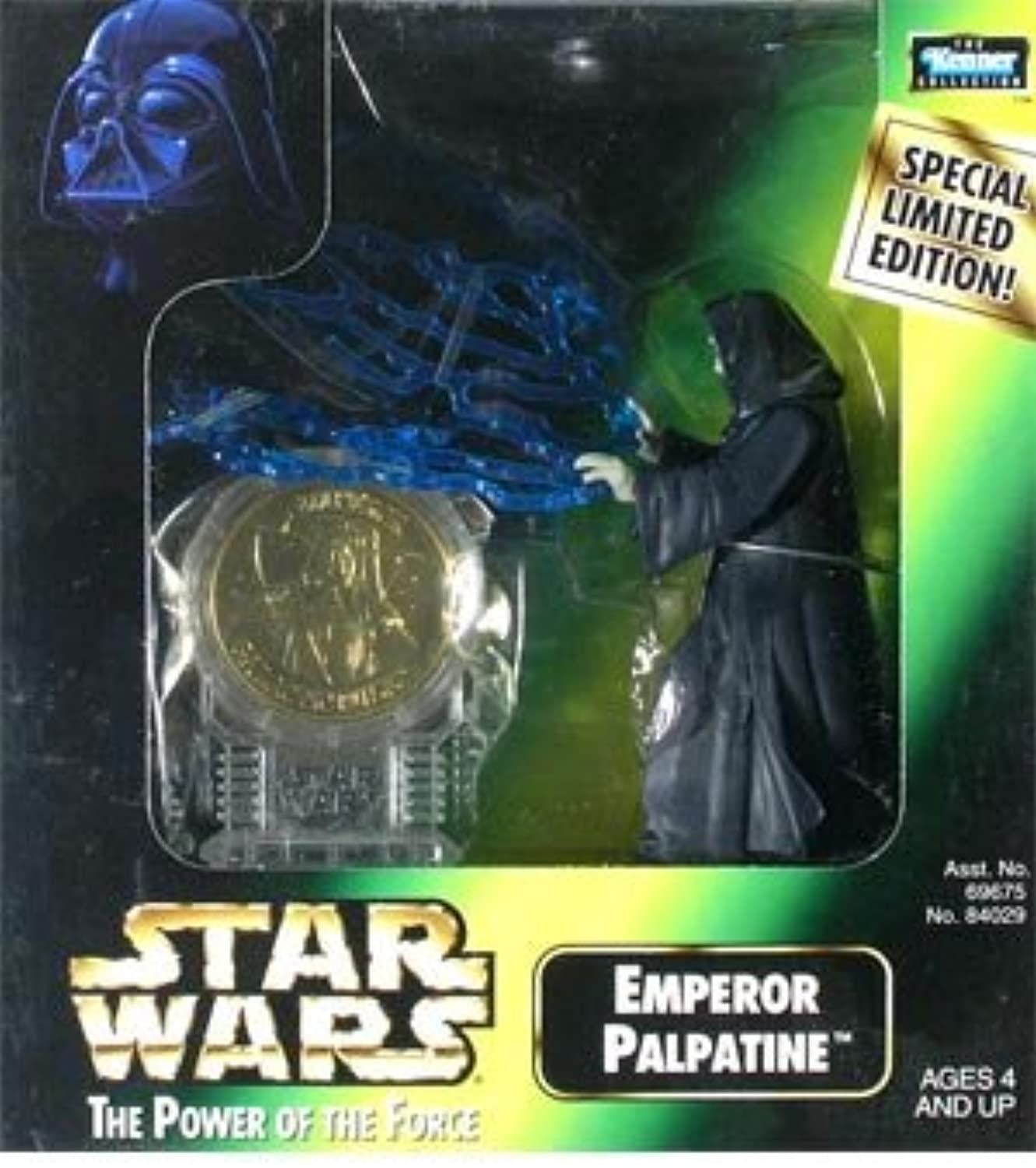 Emperor Palpatine  New Millenium Minted Coin Collection