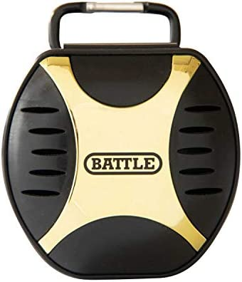 Battle Sports Science Mouthguard Case Black Gold NS product image