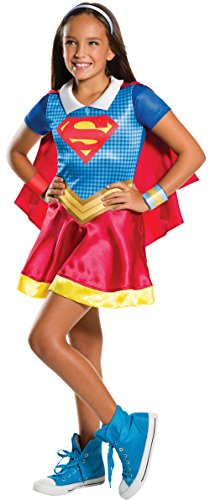 Rubies DC Super Hero Girls 620742s s Super Girl disfraz (Tamaño pequeño)