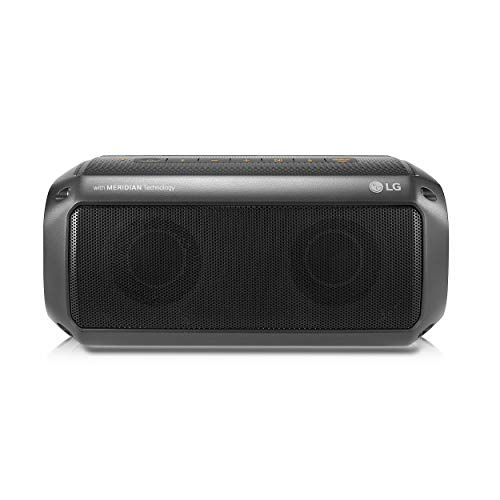 LG Speaker Xboom Go Portable Entertainment , IPX7 Water Resistant, Meridian Audio, Bluetooth, 12 Hr Battery Life