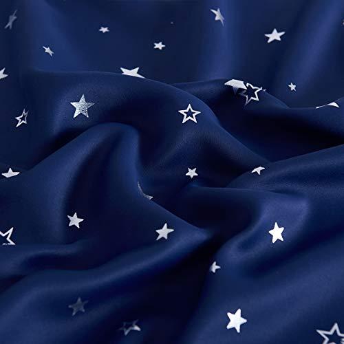 PONYDANCE『箔押し星柄遮光カーテン』