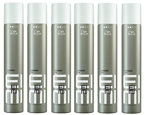 Wella EIMI Dynamic Fix - 45 Seconds Styler Haarspray SET 6 x 500ml