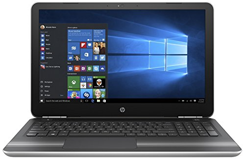 HP 15-AU624TX 2017 15.6-inch Laptop (Core i5/4GB/1TB/Windows 10 Home/Integrated Graphics), Silver