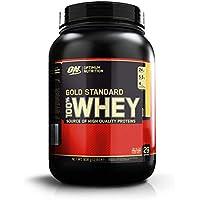 Optimum Nutrition ON Gold Standard 100% Whey Proteína en Polvo Suplementos Deportivos con Glutamina y Aminoacidos Micronizados Incluyendo BCAA, Crema de Plátano, 29 Porciones, 900 gr