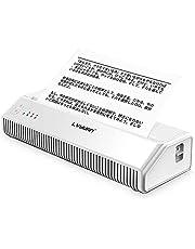 Yinleader A4 モバイル サーマルプリンターA4ポータブルサーマルプリンター 210mm 300dpi Bluetooth USB接続と1ロール感熱紙サポートPDFファイルの印刷Webページ契約 Windows Androidi OSと互換性があります 軽量・コンパクト・内蔵の1200mAhバッテリー、72時間の長い待機時間 MHT-P8008