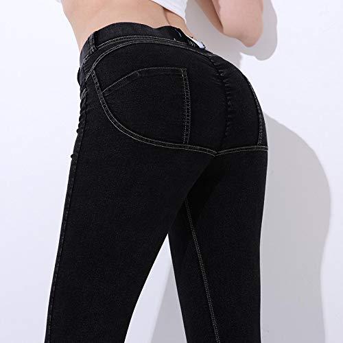 Leggings Casuales De MujerLeggings Casuales De Mujer Fitness Cintura Baja Elástico Push Up hasta El Tobillo Leggin De Al