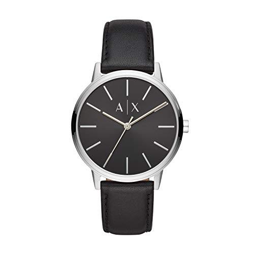 Armani Exchange Reloj Analogico para Hombre de Cuarzo con Correa en Piel AX2703
