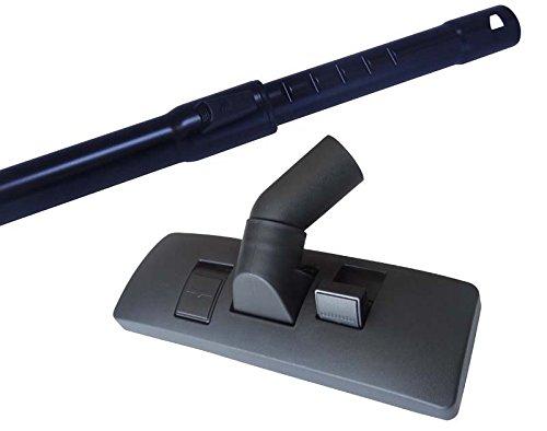 Aluminium Staubsauger 35mm Teleskoprohr für Kärcher NT 361 Eco im Set mit Staubsaugerdüse & 5 Duftstäbchen