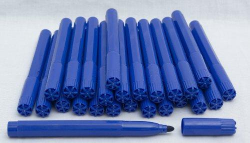 25x Blue Bingo Felt Marker Pens Dabbers