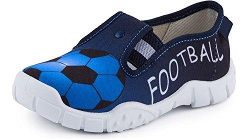 Ladeheid Zapatillas Calzado Niño LAVI0010 (Azul, 33 EU)