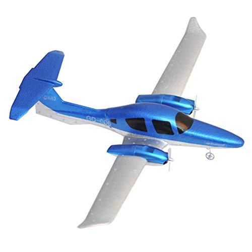 Faviye - Avión de Espuma EPP con Mando a Distancia RC de Gasa Fija, Juguete para niños