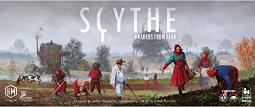 Ghenos Games - GHE068 - Scythe: Invaders from Afar, Gioco da tavolo - lingua Italiano