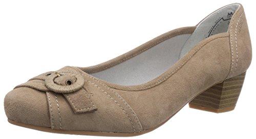Marc Shoes Damen 1.484.06-21/260-Athena Pumps, Grau (Taupe 260), 39