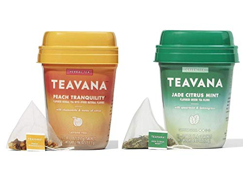 Teavana Tea Jade Citrus Mint and Peach Tranquility
