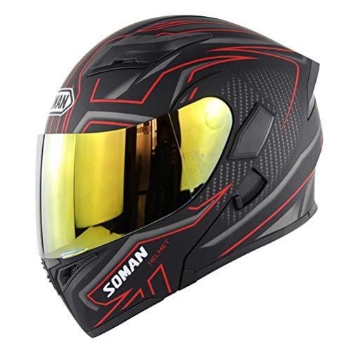 Klapphelme mit Sonnenblende Vollgesichtsmotorradhelm Carbon Motor Bike Roller Moto Helme DOT