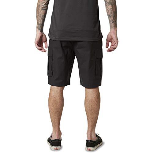 Fox Slambozo 2.0 - Pantalón corto (talla 28), color negro