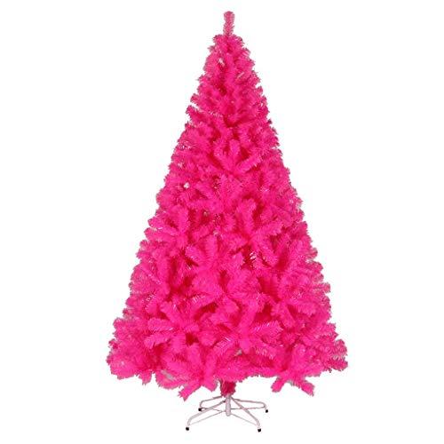 Árboles de navidad Rosa Artificial, PVC Pine Needles, Navidad decoración for el...