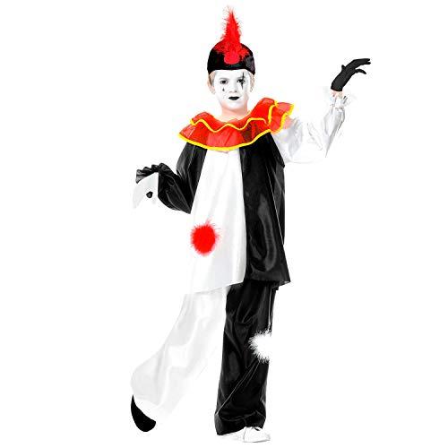 Widmann Pierrot Costume, Taille 8/10 ans