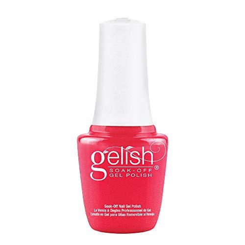 Gelish MINI Hip Hot Coral Soak-Off Gel Polish, 0.3 oz.