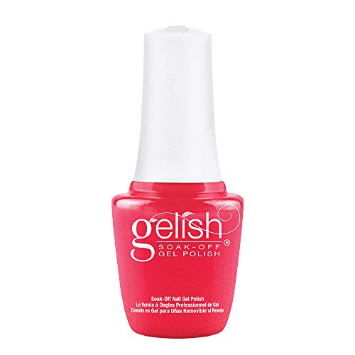 Gelish Mini Hip Hot Coral Soak-Off Gel Polish, 0.3 oz.