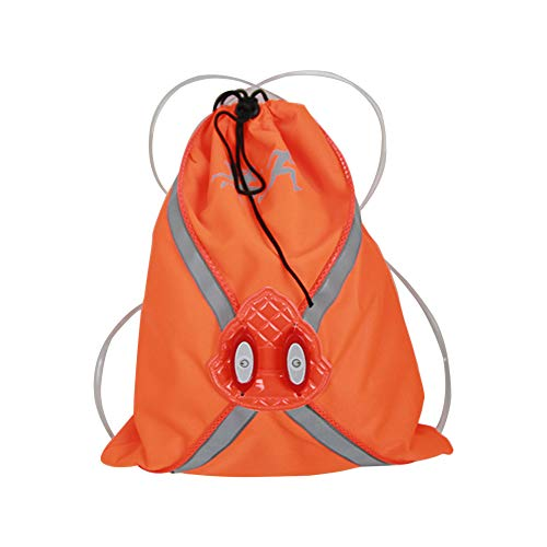 Mochila impermeable para gimnasio, con cordón, con bolsillo interior con cremallera, bolsa de viaje deportiva, repelente al agua, mochila ligera para hombres y mujeres