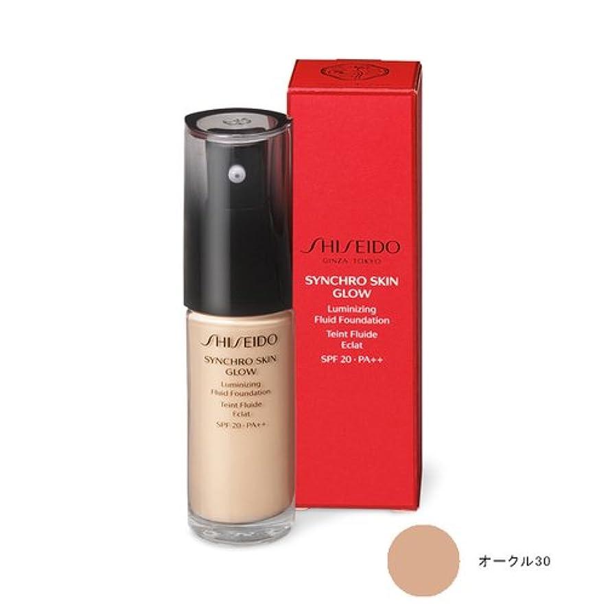 労働公平なチョコレートSHISEIDO(資生堂) SHISEIDO Makeup(資生堂 メーキャップ) / SHISEIDO(資生堂) シンクロスキン グロー ルミナイジング フリュイドファンデーション (オークル30)