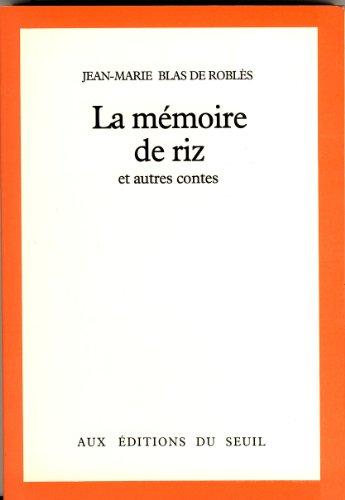 La Mémoire de riz : Et autres contes (Cadre Rouge)