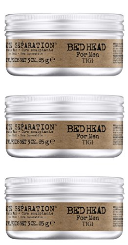 TIGI BED HEAD Matte Separation Wax 75gr (3 PIECES)