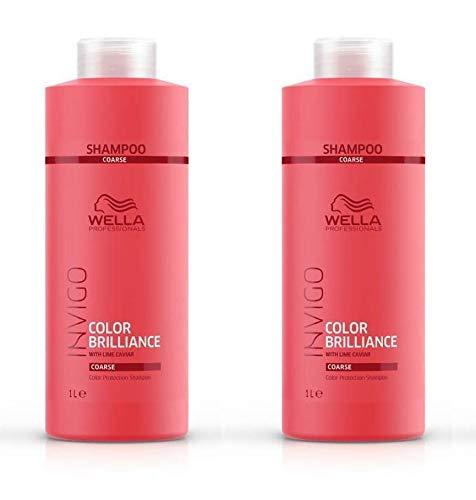 Invigo Color Brilliance Protection Champú Coarse 2 unidades, 1000 ml
