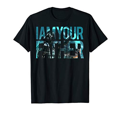 Star Wars Vader I AM YOUR FATHER Art Fill Graphic T-Shirt