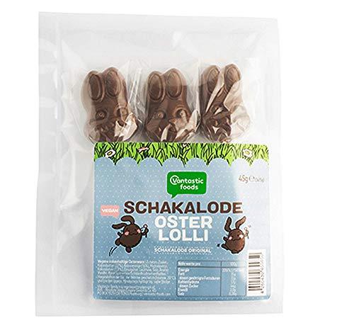 Vantastic Foods Original Schakalode Hasen-Lollies vegan, 45g