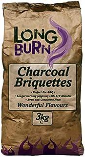 Green Olive Firewood Long Burn Charcoal Briquettes 3kg, Natural