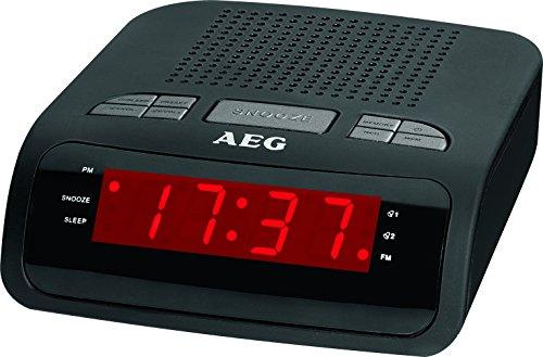 AEG MRC 4142 Uhrenradio Einschlafautomatik, 24 Stunden-LED-Anzeige