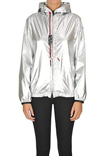 Luxury Fashion | Moncler Dames MCGLCSG0000A7005E Zilver Synthetische Vezels Outerwear Jassen | Seizoen Outlet
